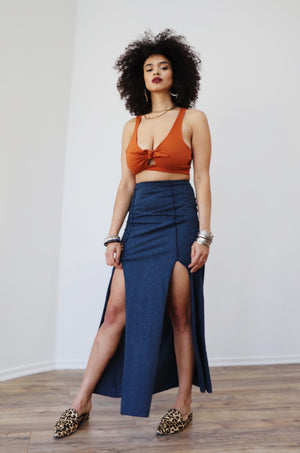 Anula Slit Skirt