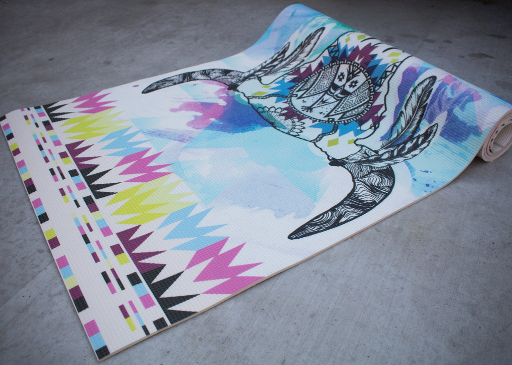 Buffalo Dancer Yoga Mat