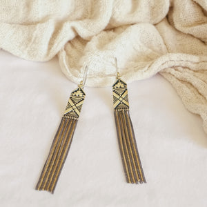 Ona Tassel Earrings
