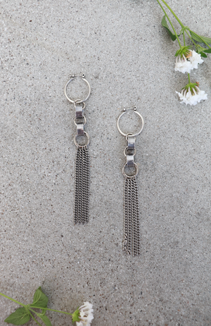 Link Tassel Earrings