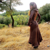 Nienna Hooded Dress w/ Sleeves