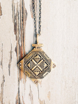 Tuareg Diamond Shape Necklace