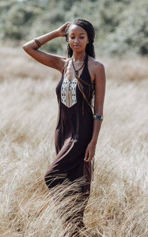 Yawa Dress || Brown