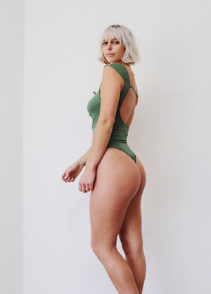 Paprika Bodysuit || Fern Green