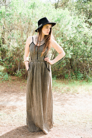 Urban Gypsy Dress || Olive