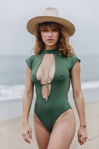 Coco BodySuit || Fern Green
