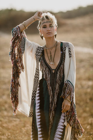 Bedouin Dress || Green
