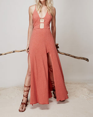Sun Gazing Dress || Peach