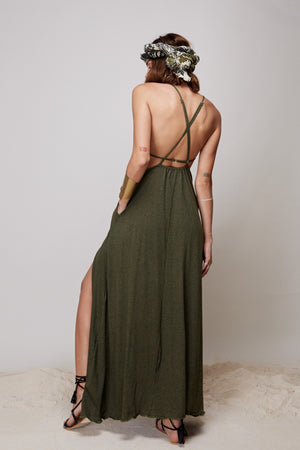 Sun Gazing Dress || Green