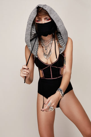 Night Tripper Hood || Detachable Mask