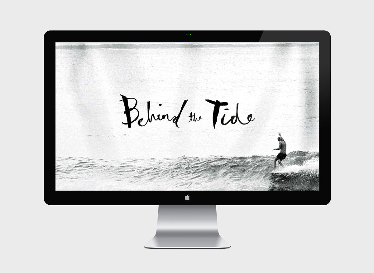 Behind the Tide website grab