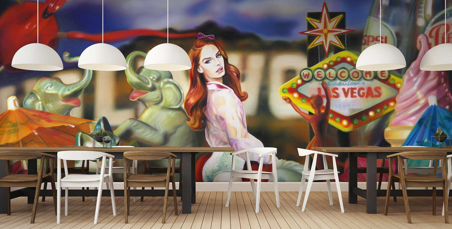 Lana Americana Carousel by the House of Artists