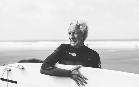 Newquay legend Wolfgang, captured for Another Place Magazine