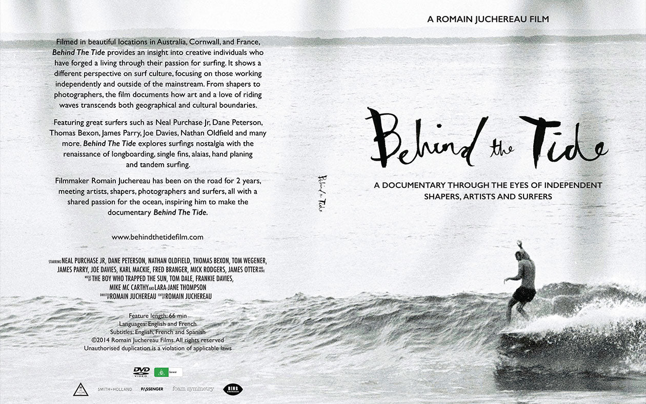 Behind the Tide DVD Cover design