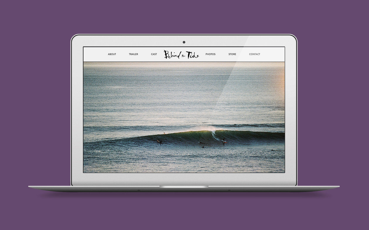 Full screen surf image for Behind the Tide