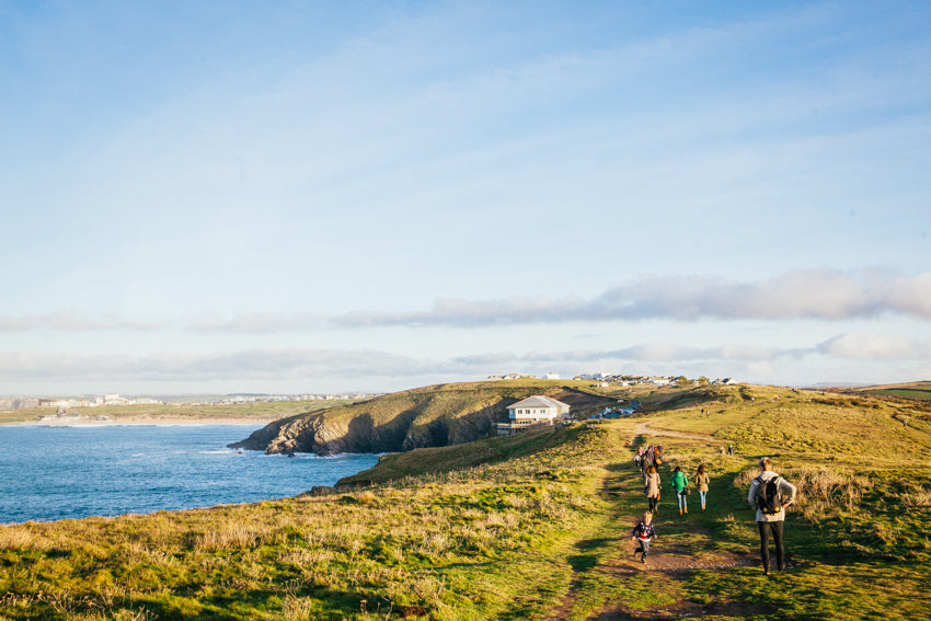 Instagram group walking | Mackie Studio Instameet | Newquay-Cornwall-UK