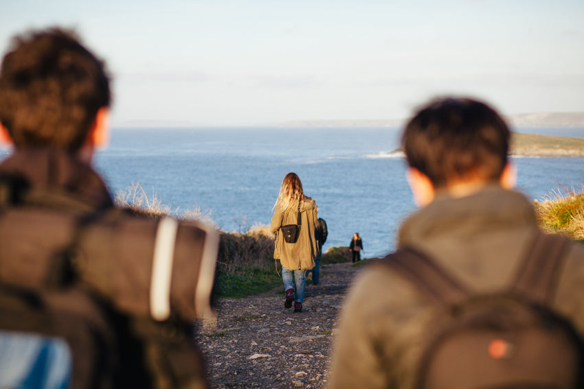 Heading to South Fistral | Mackie Studio Instameet | Newquay-Cornwall-UK