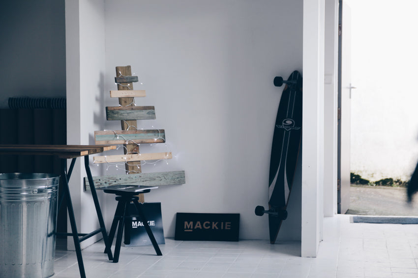 Pallet Christmas Tree | Mackie Studio Instameet | Newquay-Cornwall-UK
