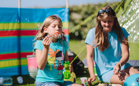 Lifestyle family shoot for Trevornick Campsite, Cornwall