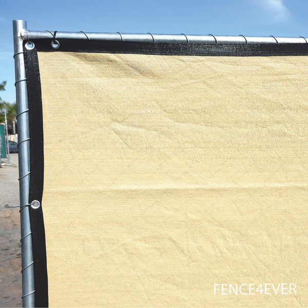 Tarps For Sale >> 6'x50' Tan Fence Screen Privacy Windscreen Mesh Cover ...