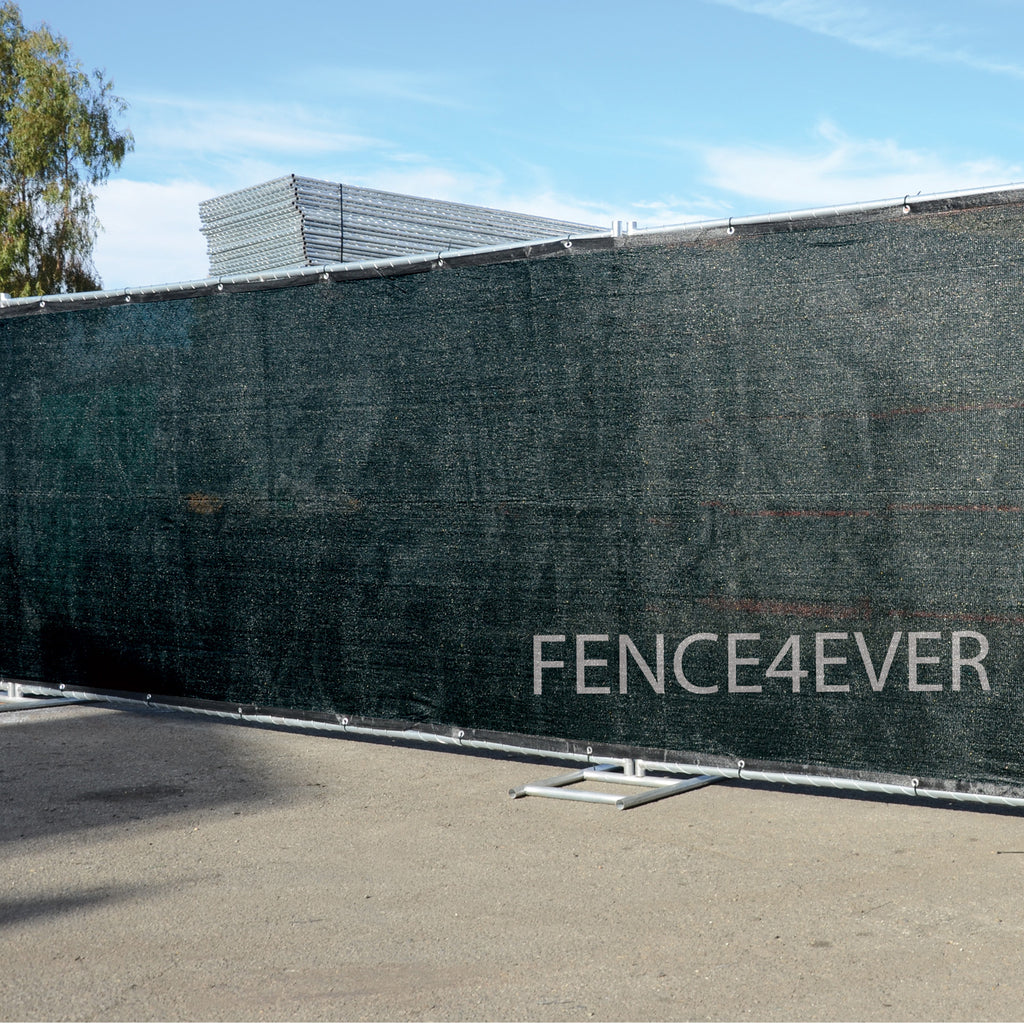 8 x50 Black Fence Screen Privacy Windscreen Shade Cloth Cover