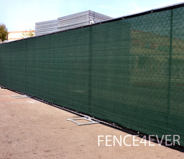 6 X25 Green Fence Screen Privacy Windscreen Mesh Cover