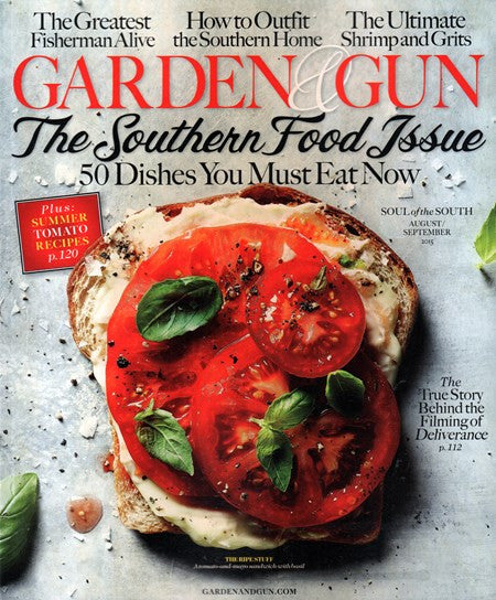Garden and Gun Magazine-August/September 2015