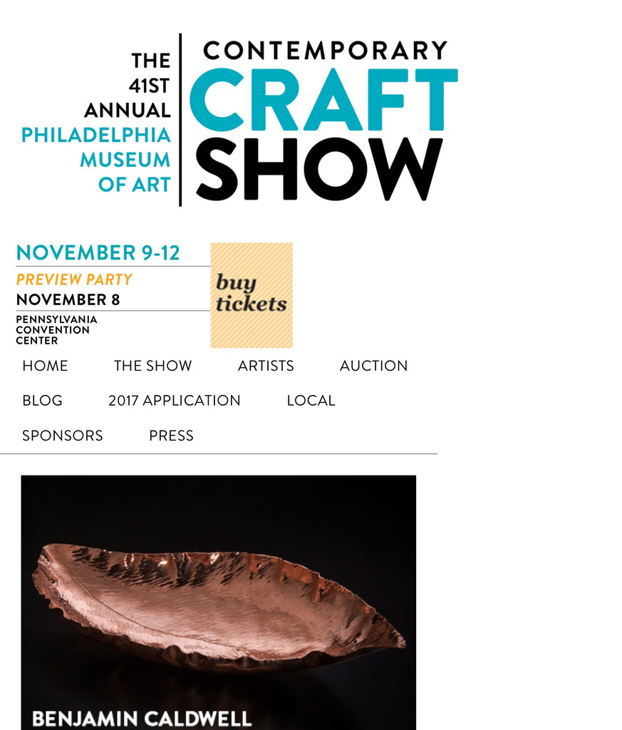 Philadelphia Museum of Art Contemporary Craft Show
