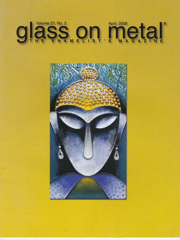 Glass on Metal Magazine enamel artist Ben Caldwell
