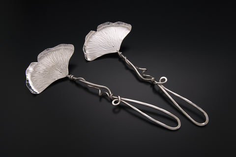 Silver Ginkgo Small Salad Set