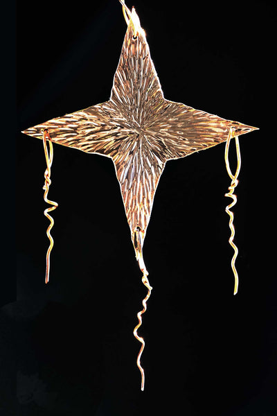 2017 Copper Star of Bethlehem Christmas Tree Ornament - Limited Edition