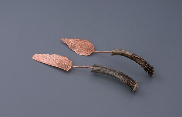 Copper Cake Knife & Server Set