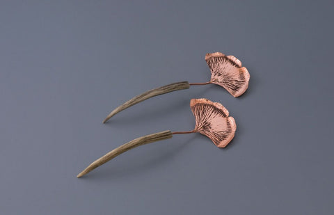 Copper Ginkgo Salad Set