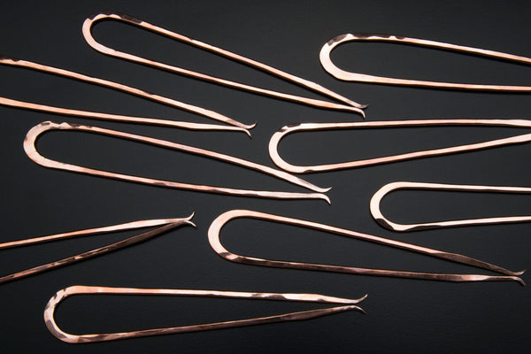 Copper Pickle Fork