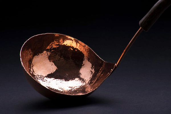 Copper Medium Soup Ladle