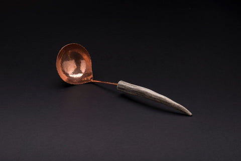 Copper Medium Gravy Ladle