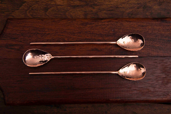Copper Straight Bar Spoon