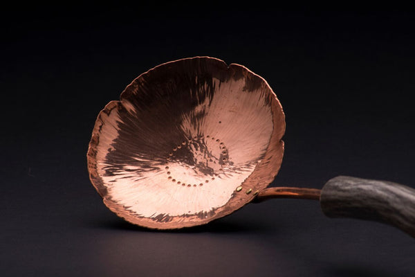 Copper Pear Blossom Spoon