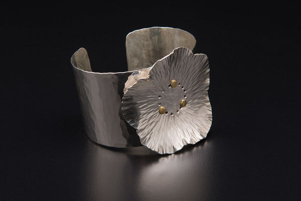 Pear Blossom Cuff Bracelet