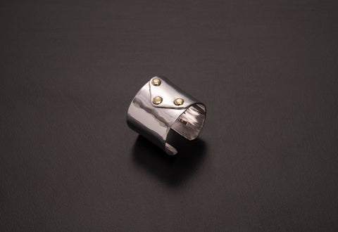 Sterling Silver Envelope Ring