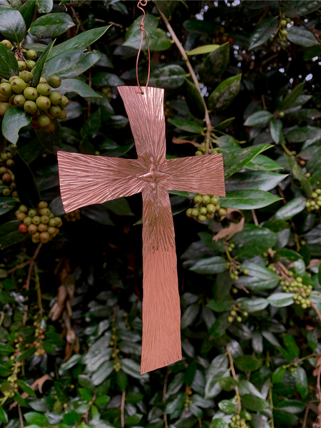 2020 Limited Edition Copper Star of Bethlehem Cross
