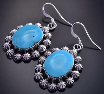 Turquoise Earrings by Angeline Platero 9J16X