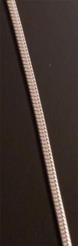16 inch ~ 1.2mm Round Chain ~ Italian Silver Chain       TO51R