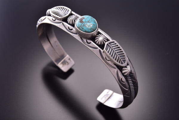 Old Style Red Mountain Turquoise Bracelet by Erick Begay ZE18K