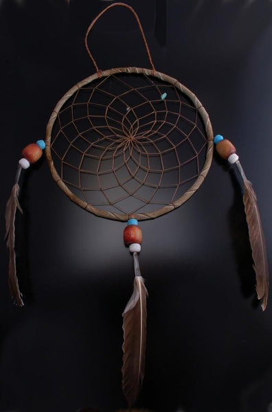 Feather Leather Decorative Dream Catcher- VN21M