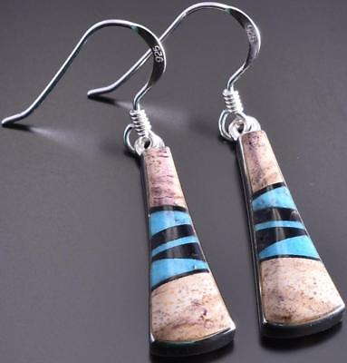 Picture Jasper Inlay Earrings by Sheryl Martinez 8I02D
