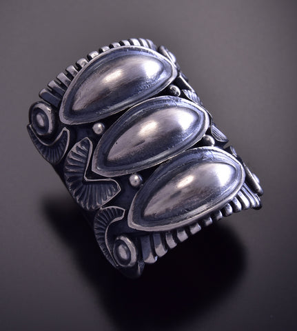 Size 5-3/4 Silver Ring by Derrick Gordon ZM01F