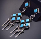 Sleeping Beauty Turquoise Earrings by Priscilla Chavez 9J16T