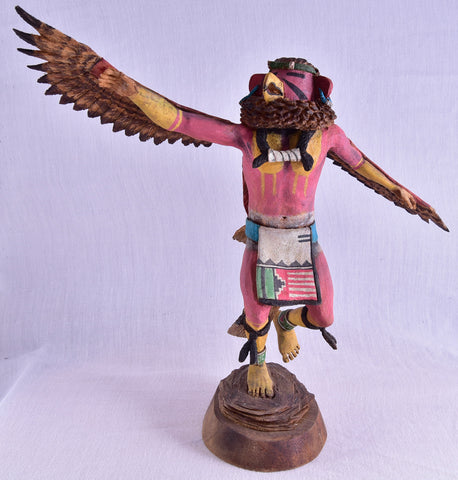 Red Tail Hawk Kachina Doll by Duwayne Chee ZH17U