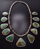Vintage Royston Turquoise Necklace by Michael Thompson C9L11J